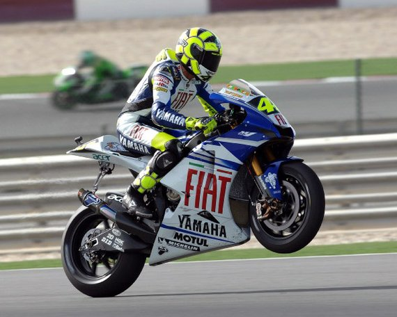 Finding A Paint Colour Valentino Rossi Yamaha Yellow