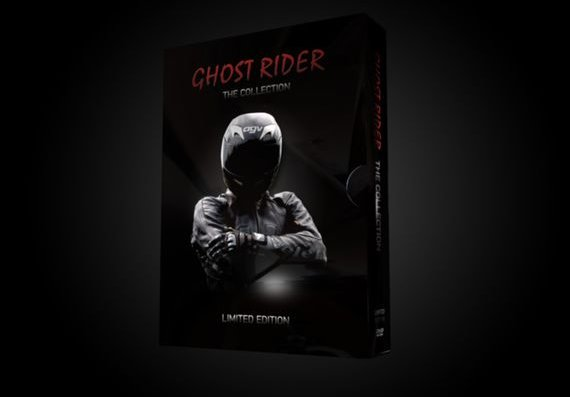 Coffret édition limité de la collection Ghost Rider - GR's LIMITED COLLECTION BOX
