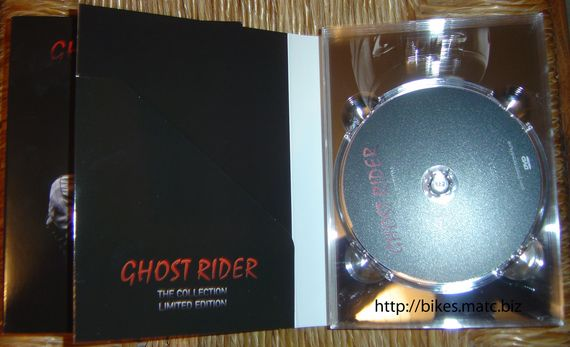 Ghost Rider 5 The Collection Limited Edition Inside