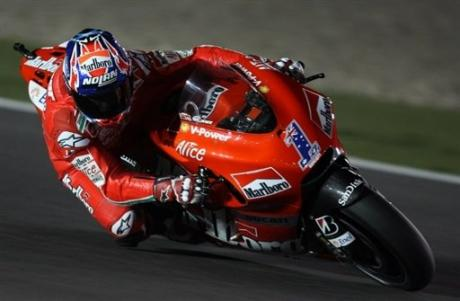 MotoGP 2008 Qatar Night Caser Stoner Winner