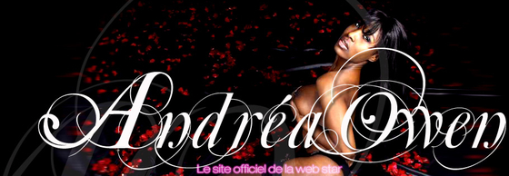 Logo officiel du site érotique de la star Andrea Owen