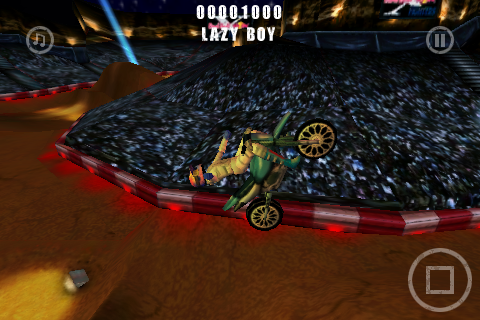 Trick Lazy Boy In Game Red Bull FMX X-Fighters sur iPhone