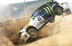 Crash virtuel de la Subaru Street Monster de Ken Block dans le jeu Dirt 2