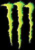 La griffe de Monster Energy