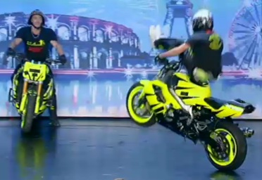 3 stunters dans la France a un incroyable talent 2010