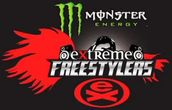 Logo Monster Energy Extreme Freestylers