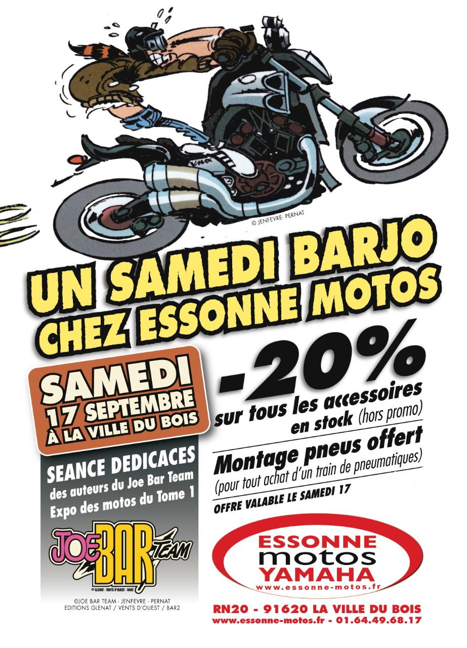 Flyer Joe Bar Team Essonne Motos