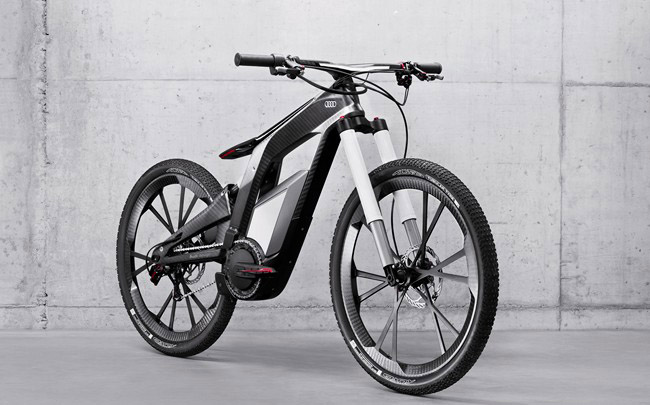 Audi E-Bike Wörthersee avant droit