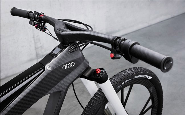 Audi E-Bike Wörthersee guidon