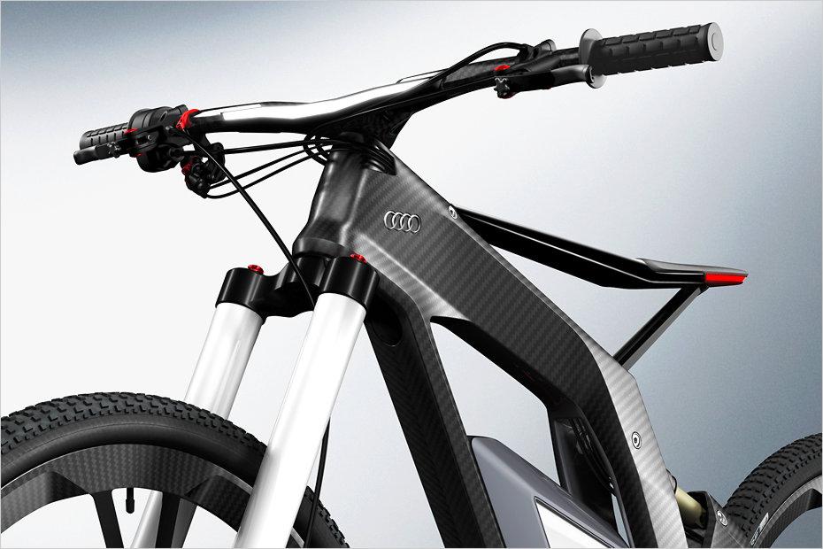 e bike w rthersee le transporteur personnel d 39 audi motard geek. Black Bedroom Furniture Sets. Home Design Ideas