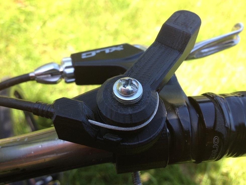 Shifter de vélo imprimé en 3D