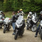 pose photo motards blogueurs