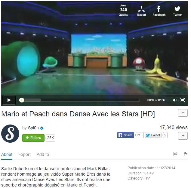 Monétisation de danse avec les stars par Tuxboard