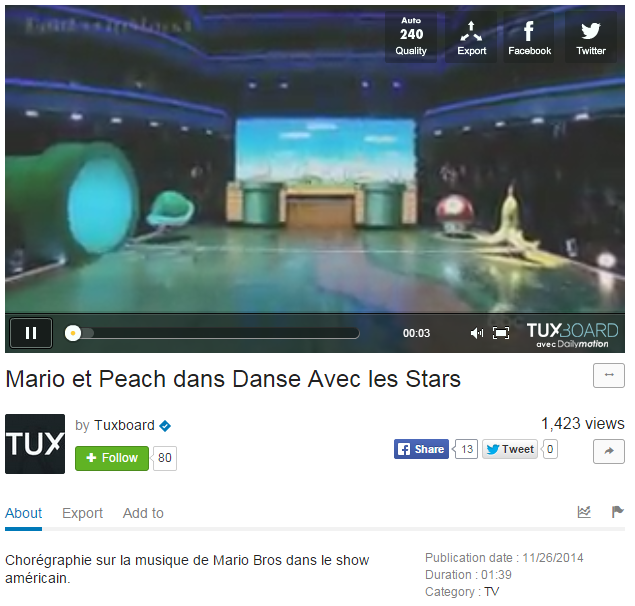 Monétisation de danse avec les stars par Spi0n