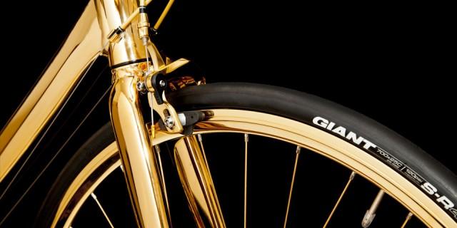 Vélo en Or 24K 05