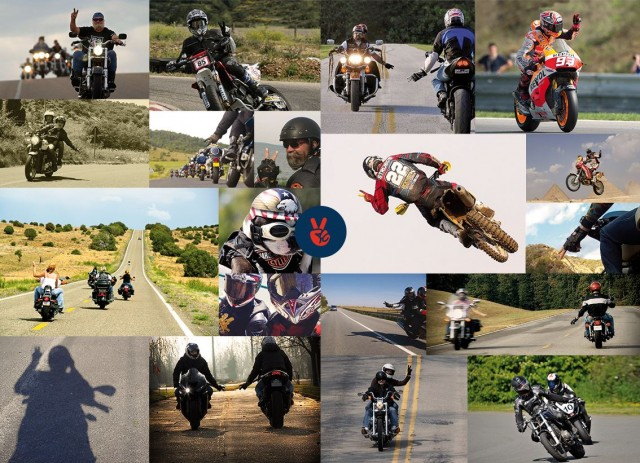 Compilation de V motards