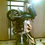 arabian stunt moto at home