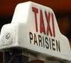 plaque taxi parisien