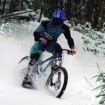 vtt downhill snow