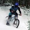 vtt downhill snow