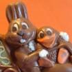 moto de Paques en chocolat