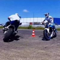 gopro hero2 driftstyle stunt ride