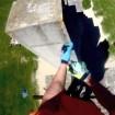 rick koekoek climb wall vtt trial