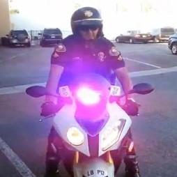 police bmw s1000rr