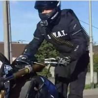 swat biker