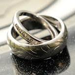 bague alliance mariage motard pneu avon