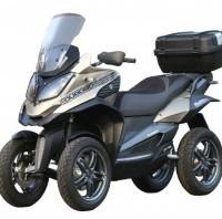 scooter 4 roues quadro parkour 350