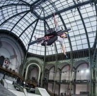 RedBull Skylines Grand Palais Paris 2012