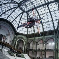RedBull Skylines Grand Palais Paris 2012