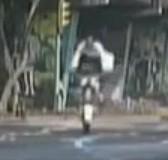 police moto vs dos d'ane
