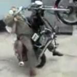 papi moto wheeling crash