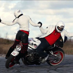 danse sur moto