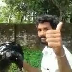 pilote velo moteur indien