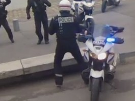 harlem shake police