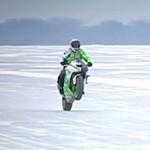 moto ice wheeling
