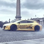 megane trophy v6 taxi paris