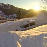 skieur vs police