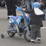 enfant moto