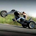 trike v8 wheeling