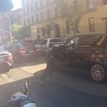 Agression d'un automobiliste par un motard