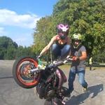 rose bugs extreme stunt tandem