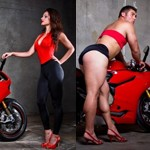 Pin up Ducati homme VS femme