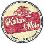 Logo Kulture Moto Vintage Look