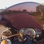évitement moto grande vitesse