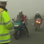 policier accident moto