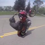 roue arriere harley stunt